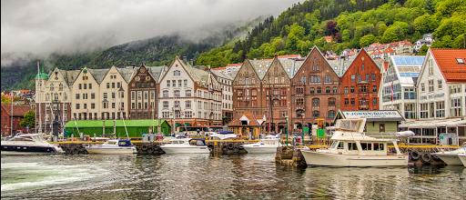 Norvège à moto
