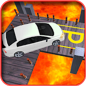 Lava Car Parking Adventure Time Games 3D 2017