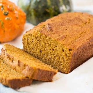 Healthy Pumpkin Bread.