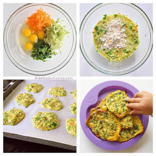 Vegetable Egg Patties.