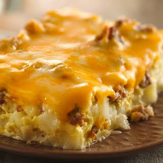 Overnight Tex-Mex Egg Bake.