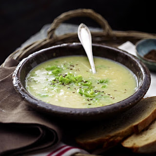 Potato, Cabbage and Caraway Soup.