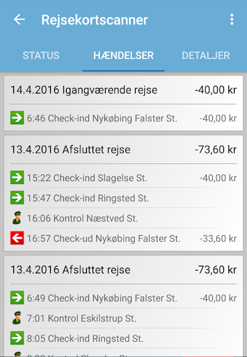 Rejsekortscanner  screenshots 6
