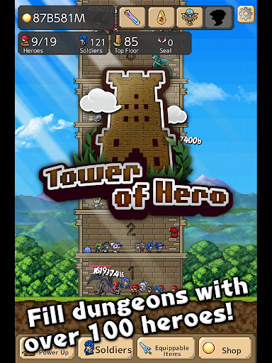 Tower of Hero v1.3.5 APK (Mod)