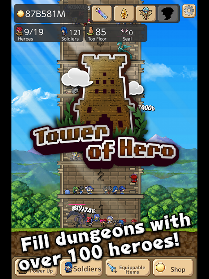Tower of Hero- screenshot