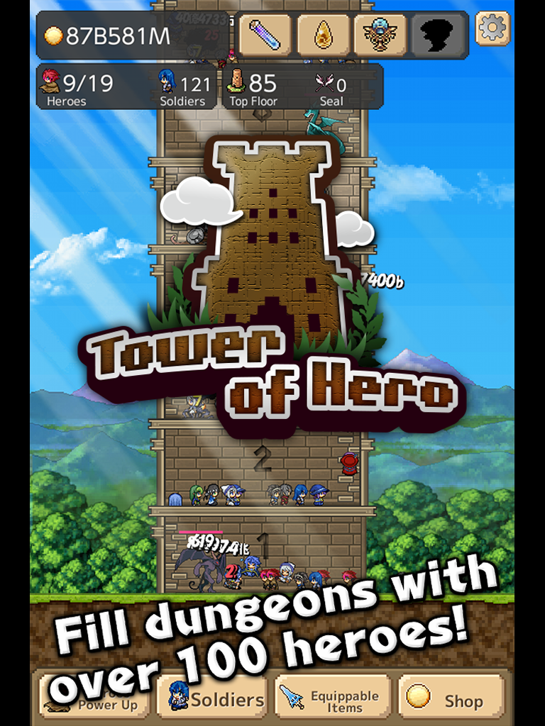 Tower of Hero Screenshot 2