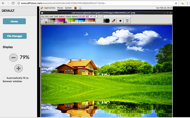 XPaint image editor and painter