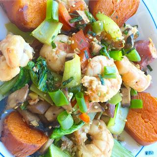 Teriyaki Shrimp And Vegetable Stir Fry Recipes