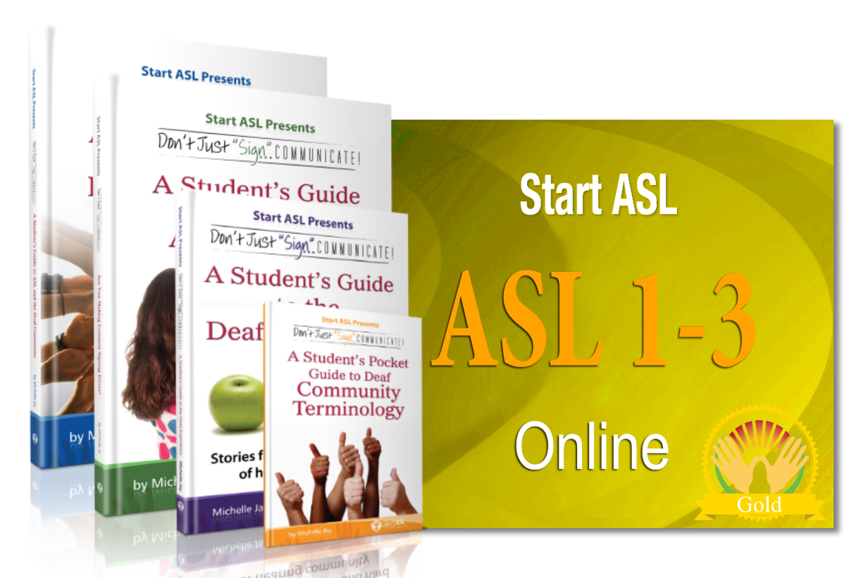 Start ASL Online Gold Level One Year