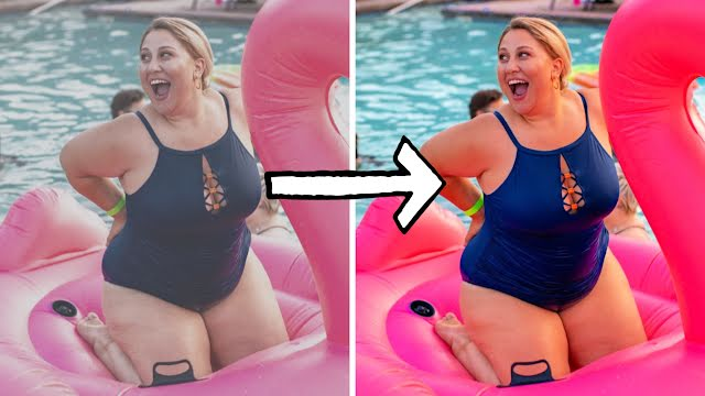 Poolside Before & After - YouTube Thumbnail Template
