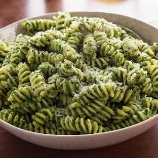 Spinach Pesto Fusilli.