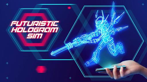 未来型のホログラムシム
