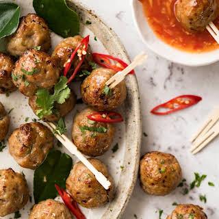 Thai Meatballs Recipes.