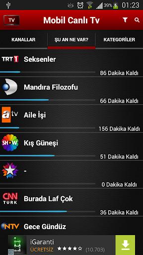 Mobil Canlı Tv for PC