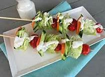 Tailgate/picnic Salad On A Stick Recipe