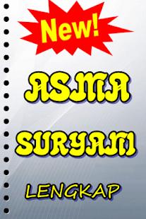 Asmak' Suryani Lengkap - náhled
