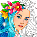 Color Fun - Color by Number & Coloring Books Icon