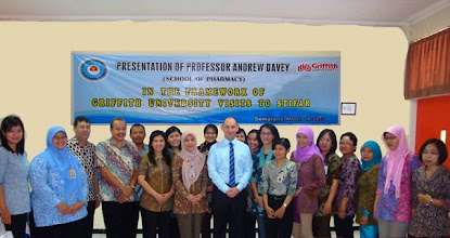 Photo: kunjungan Prof.Andrew Davey