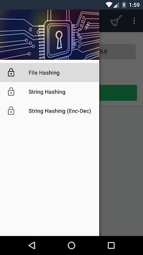 Screenshot 1 Hash Tools - String and File Hashing