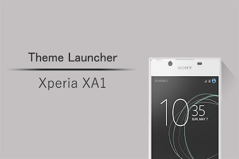 Launcher Theme for Xperia XA1 - náhled