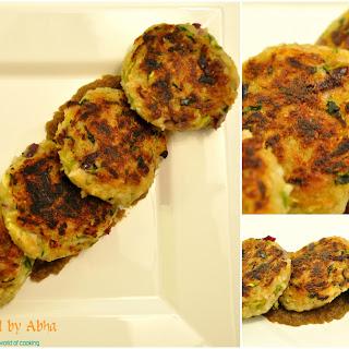 Leftover Rice & Zucchini Patties