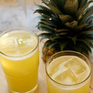 Pineapple Ginger Agua Frescas.