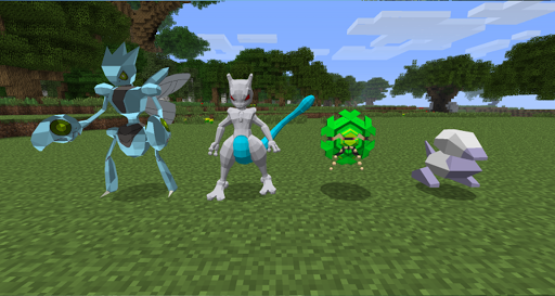 Craft Pixelmon GO mod PE 2017 1.1 Screenshots 1