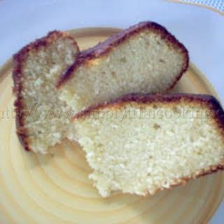 Trinidad Sponge Cake.
