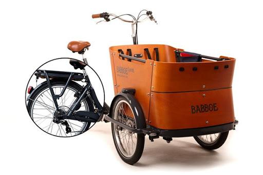 vélo  électrique triporteur