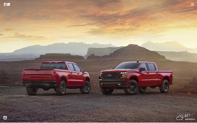 Chevrolet Silverado HD Wallpapers New Tab