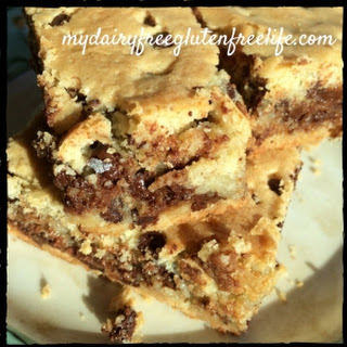 Chocolate Chip Cookie Bars Recipe, Gluten-Free & Dairy- Free