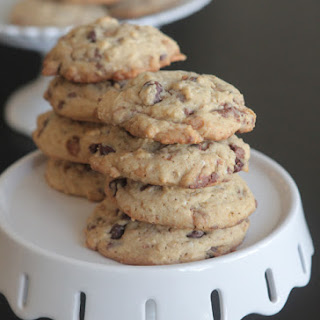 Oatmeal Toffee Chocolate Chip Cookies.