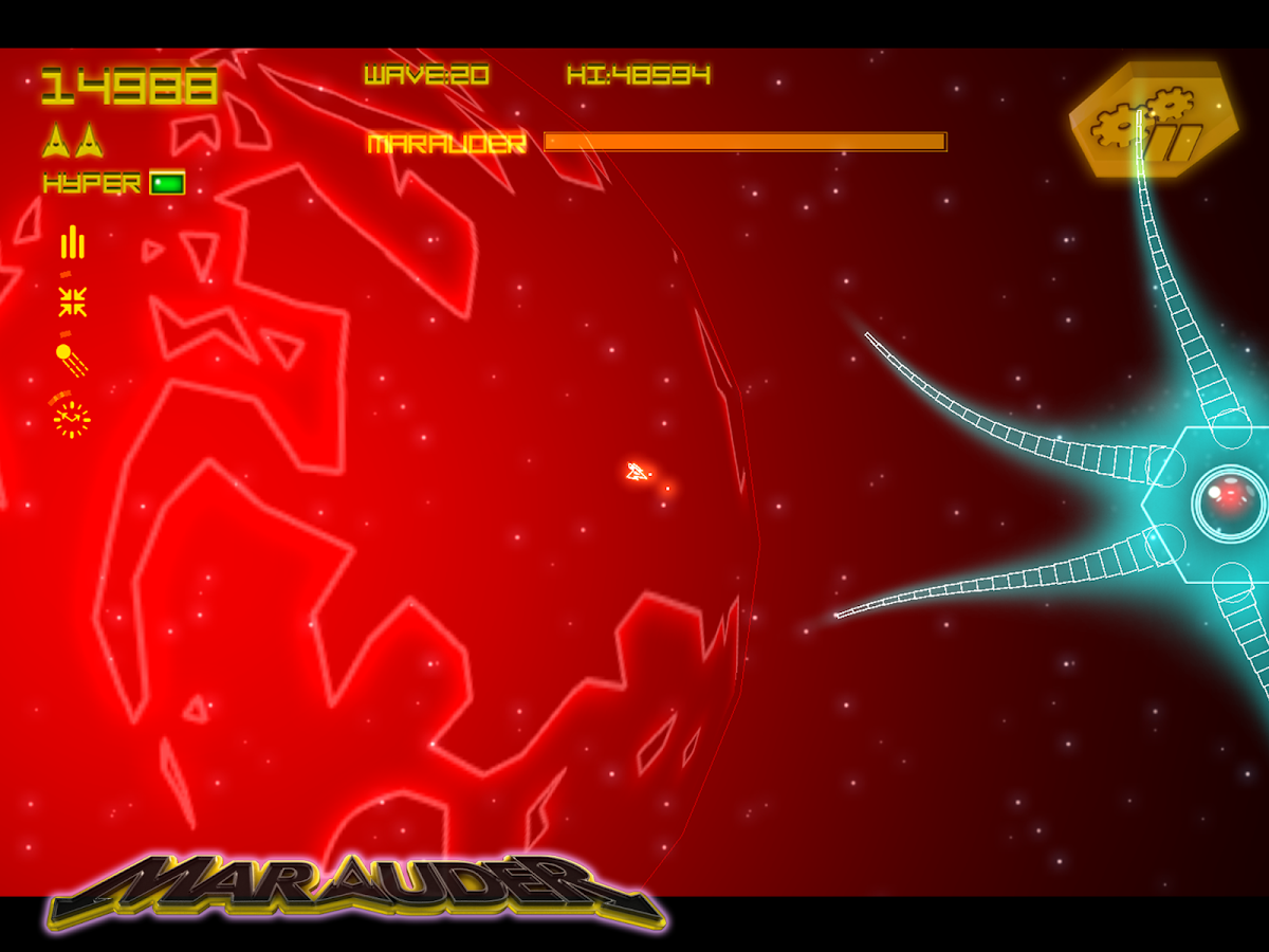 Asteroid Marauder Retro- screenshot