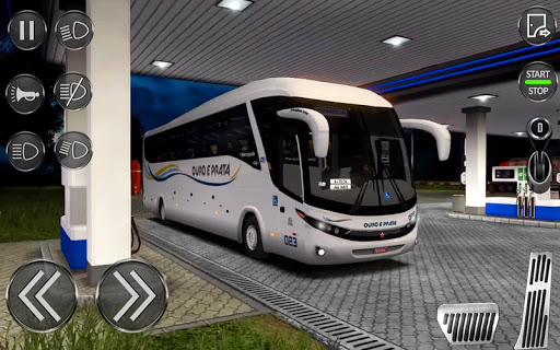 City Coach Bus Driving Sim : Bus Games 2020 apklade screenshots 2