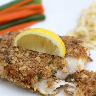 Pretzel-Crusted Fish Fillets
