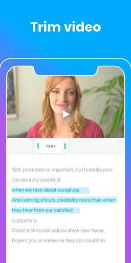 BIGVU teleprompter vlog & subtitle captions maker screenshot 3