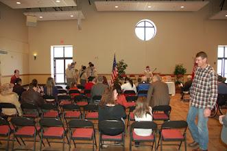 Photo: Troop 433 Eagle Ceremony. Holy Family Church, Marietta Ga. February 2015.