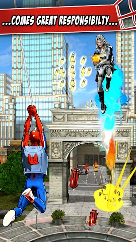 android Spider-Man Unlimited Screenshot 9