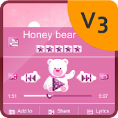 Honey bear PlayerPro Skin