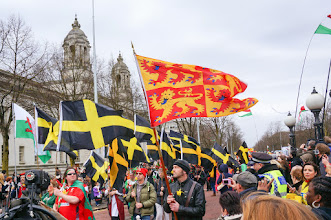 Photo: Many flags