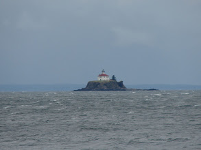 Photo: Eldred Rock Lighthouse in Lynn Canal.
