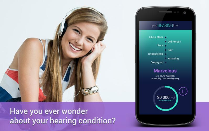 Hearing Test- screenshot