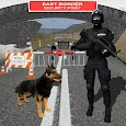 Border Patrol Sniffer Dog : Commando Army Dog Sim