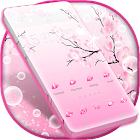 Pink Cherry GO Theme icon