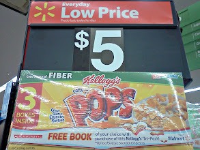 Photo: I decided to grab some groceries first, off to the cereal aisle. They had a great deal on three boxes on POPS!