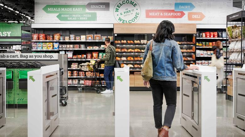 Amazon inaugura su primera tienda sin cajeros 5