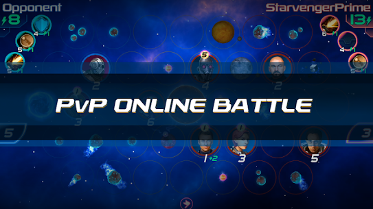 Starvengers: Mind-blowing, Sci-Fi Space Strategy 1.0.48 Android APK Mod 1