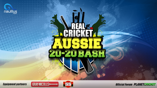 Real Cricket u2122 Aussie 20 Bash 1.0.7 screenshots 1