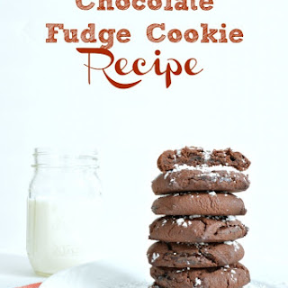 Chocolate Fudge Cookies.