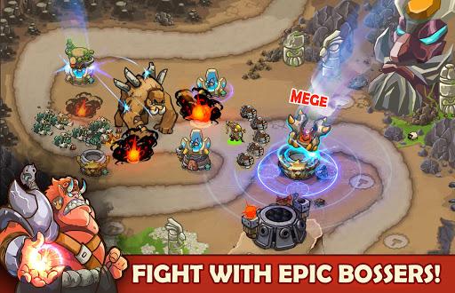 King Of Defense: Battle Frontier (Merge TD) apktram screenshots 8